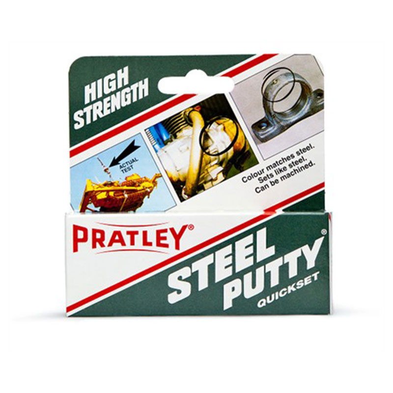Pratley Steel Putty 125g Epoxy