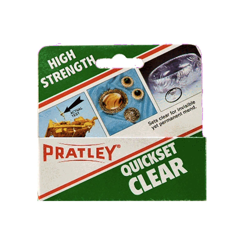 Pratley Quickset Clear 40ml