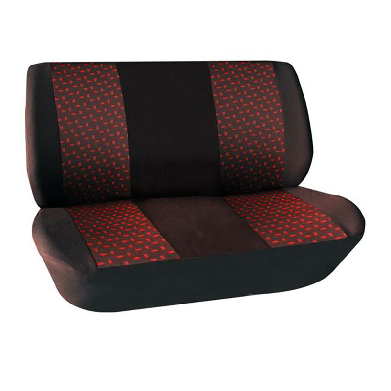 Seat Cover Set 2pc Bench (Bakkie) Red