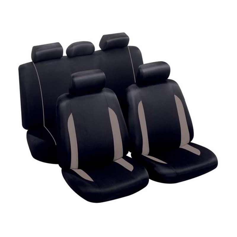 Seat Cover Set 9pc Grey Spa