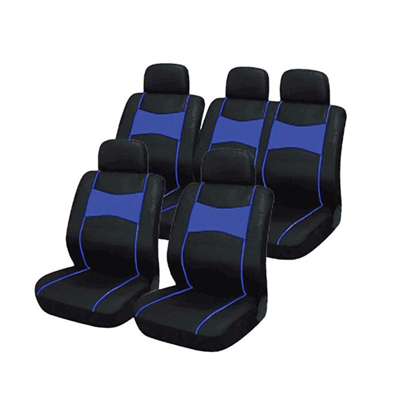 Seat Cover Set 10pce Blue Suv