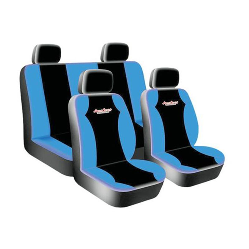 Seat Cover Set 8pc Blue West Coast