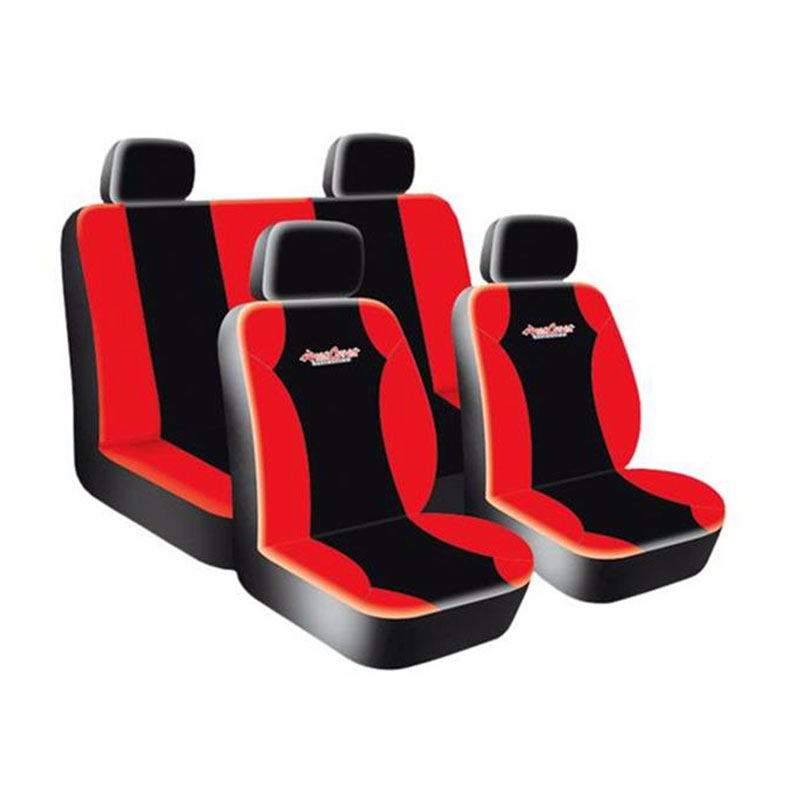 Seat Cover Set 8pc Red West Coast