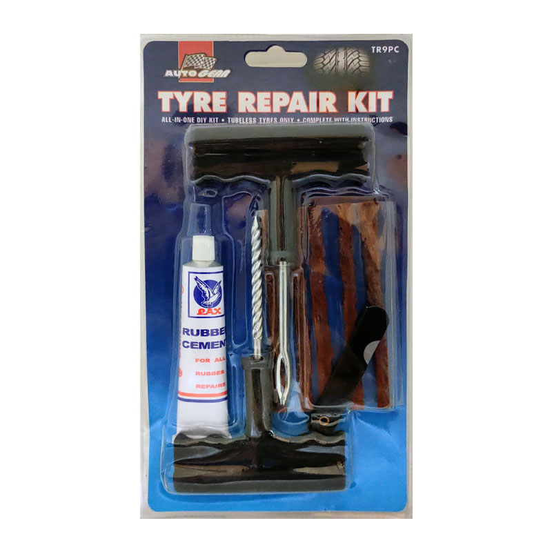 Repair Kit Tyre Tubeless 6pc