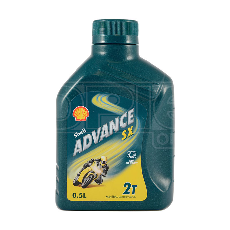 Motor Oil 500ml Advancesx 2-stroke Shell