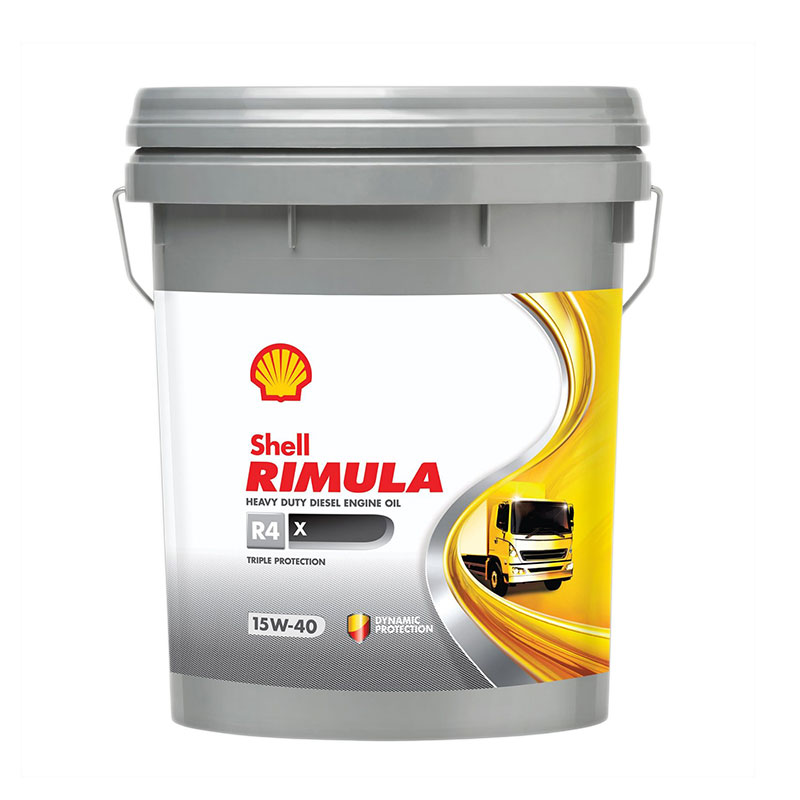 Diesel Engine Oil H/D 20l R4X 15W40 Shell Rimula