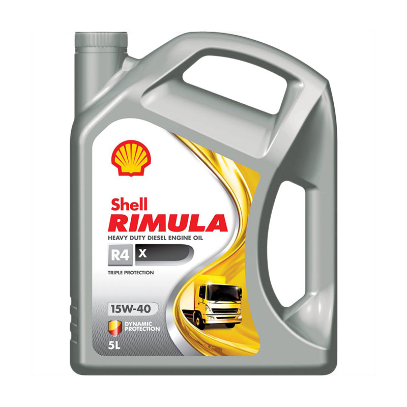 Diesel Engine Oil H/D 5l R4X 15W40 Shell Rimula