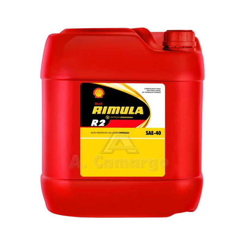 Diesel Engine Oil H/D 20l R2 SAE40 Shell Rimula
