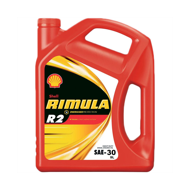 Diesel Engine Oil H/D 5l R2 SAE30 Shell Rimula